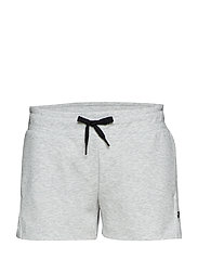 W RACE SHORTS - GREY MEL