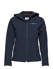 W GALE SOFTSHELL HOOD - NAVY