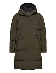 W RACE DOWN PARKA - FOREST GREEN