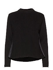 W RACE KNITTED SLIT - CARBON