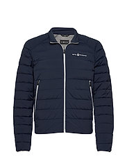 SPRAY DOWN JACKET - NAVY