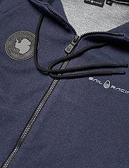 Sail Racing - ANTARCTICA ZIP HOOD - basic sweatshirts - navy melange - 3
