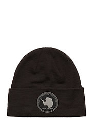 ANTARCTICA FOLDED WOOL BEANIE - CARBON