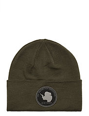 ANTARCTICA FOLDED WOOL BEANIE - FOREST GREEN