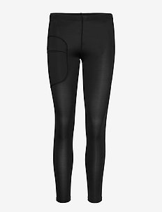 W RACE TIGHTS - juoksu- & treenitrikoot - carbon