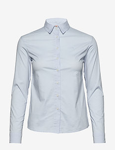 W GALE SHIRT - long-sleeved shirts - light blue