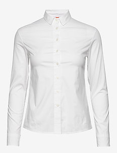 W GALE SHIRT - long-sleeved shirts - white