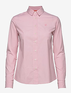 W GALE STRIPED SHIRT - long-sleeved shirts - light pink