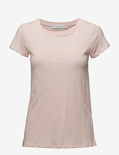 W GALE TEE - BRIGHT PINK