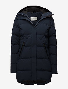 W RACE DOWN PARKA - parkatakit - navy