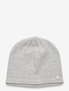 W RACE BEANIE - hats - grey melange