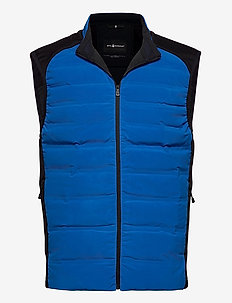 RACE DOWN VEST - trainingsjacken - bright blue