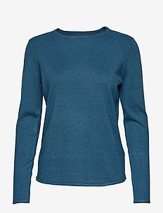 W Race Light Knit - jumpers - dark teal