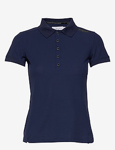 W GALE TECHNICAL POLO - polos - storm blue