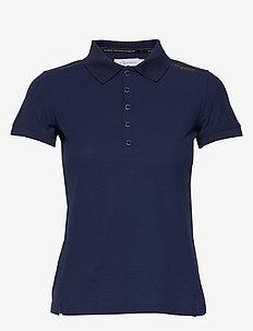 W GALE TECHNICAL POLO - koszulki polo - storm blue