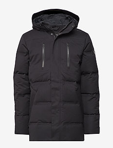 RACE WOOL PARKA - CARBON