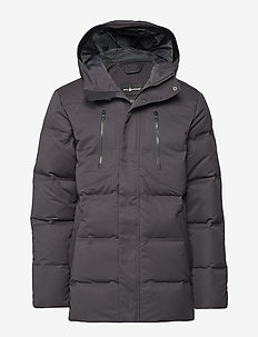 RACE WOOL PARKA - parki - phantom grey