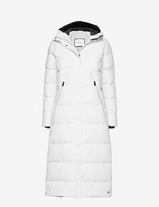 W RACE DOWN COAT - GLACIER GREY