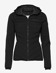 W RACE HYBRID HOOD - down jackets - carbon