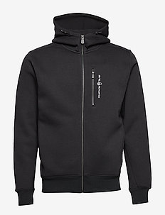 BOWMAN ZIP HOOD - hoodies - carbon