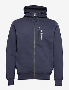BOWMAN ZIP HOOD - hoodies - navy