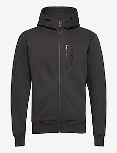 BOWMAN ZIP HOOD - hoodies - phantom grey