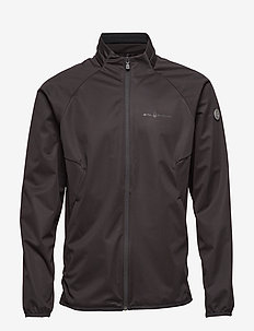 BOWMAN SOFTSHELL JACKET - CARBON