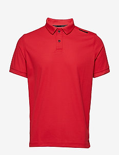 BOWMAN TECHNICAL POLO - BRIGHT RED