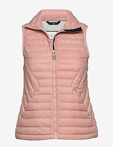 W LINK DOWN VEST - sports jackets - dusky pink