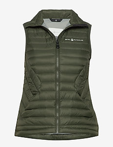 W LINK DOWN VEST - sports jackets - forest green