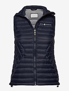 W LINK DOWN VEST - sports jackets - navy