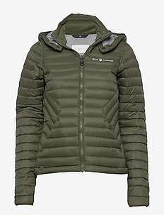 W LINK DOWN JACKET - sports jackets - forest green
