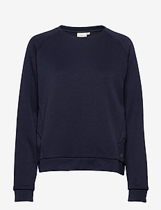 W RACE RAGLAN SWEATER - sweatshirts - navy