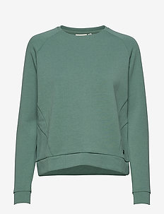 W RACE RAGLAN SWEATER - bluzy i swetry - sage green