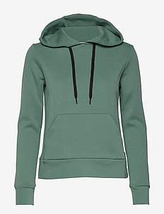 W RACE HOOD - hoodies - sage green