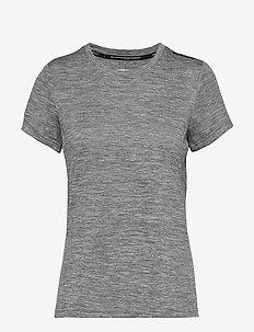 W GALE TECHNICAL TEE - t-shirts - grey mel
