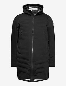 THE GORE TEX COTTON PARKA - parki - phantom grey