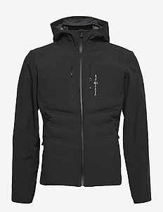 FUSION HYBRID HOOD - sports jackets - carbon
