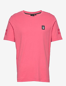 SALINITY TEE - sports tops - pink rose