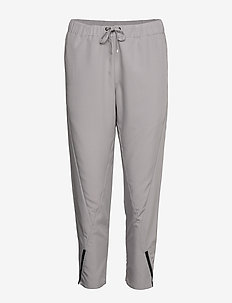 W RACE WOVEN PANT - trainingshosen - dim grey