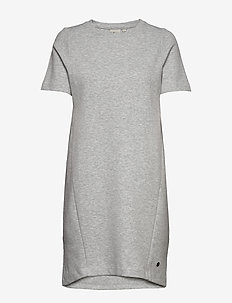 W RACE DRESS - sports dresses - grey mel