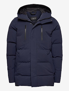 RACE T8 PARKA - down jackets - navy