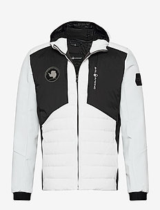 ANTARCTICA HYBRID HOOD - sports jackets - white