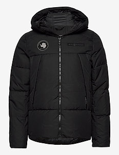 ARCTIC DOWN HOOD - sports jackets - carbon