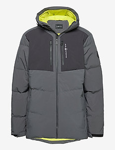 PATROL DOWN JACKET - sports jackets - dk grey solid