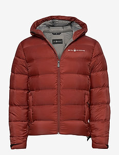 GRAVITY DOWN JACKET - sports jackets - fired brick
