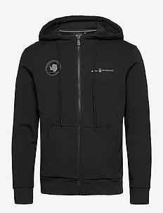ANTARCTICA ZIP HOOD - basic sweatshirts - carbon