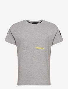 ANTARCTICA TEE - t-shirts - grey mel