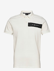 HELMSMAN POLO - kortærmede - off white