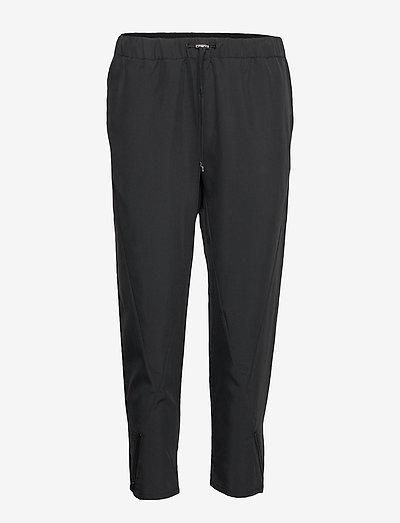W RACE WOVEN PANT - spodnie sportowe - carbon